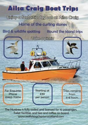 Ailsa Craig Boat Trips